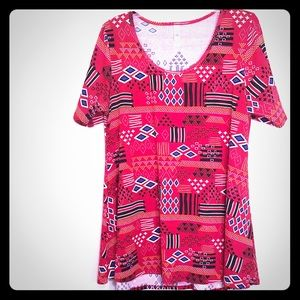 LulaRoe Tunic Top.